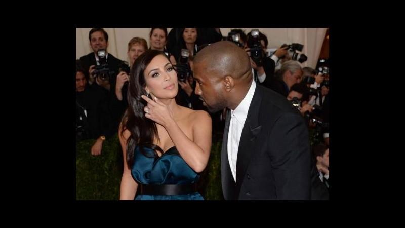 Kanye e Kim: Ci sposiamo a Firenze perché qui concepimmo nostra figlia
