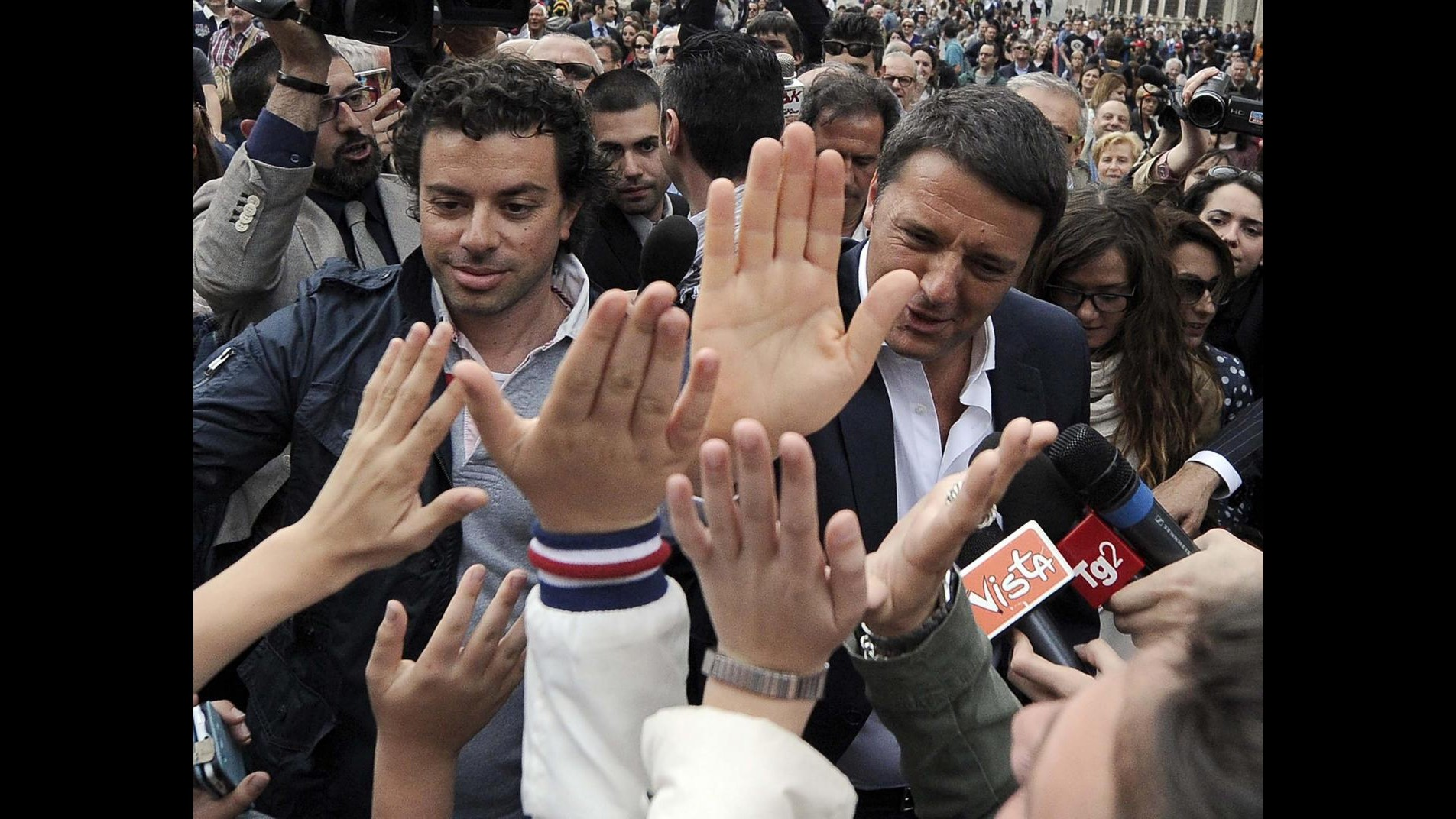 Expo, Renzi a Forlì: Daspo per i politici che prendono le tangenti