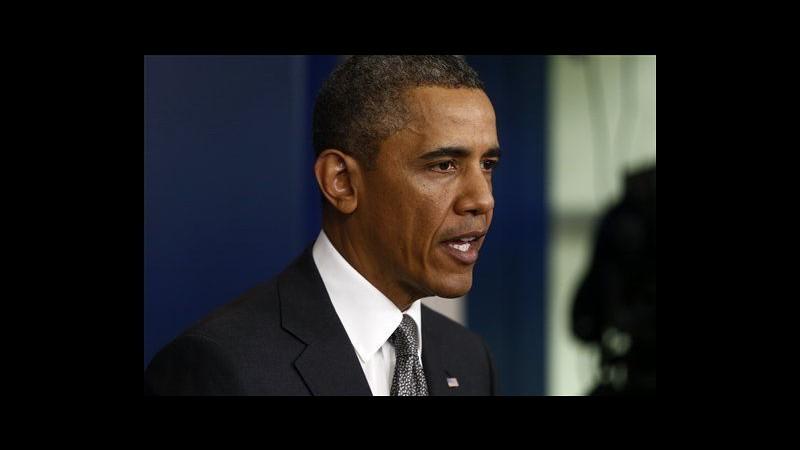 Maratona Boston, Obama: Atto atroce e codardo contro civili
