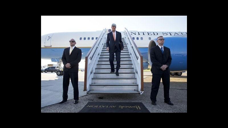 Medioriente, Kerry vedrà Abbas a Londra: prima volta da crollo colloqui