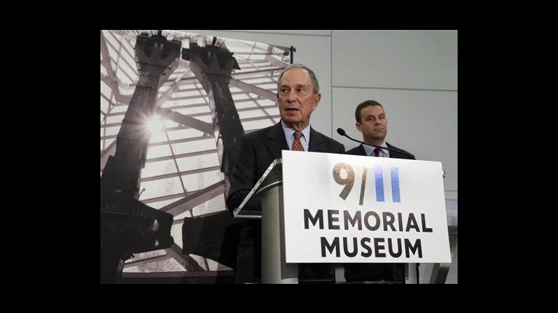 11 settembre, domani inaugurazione museo a New York, atteso Obama