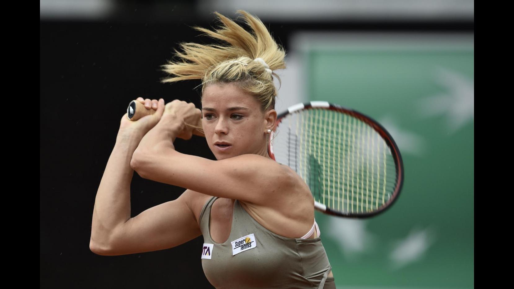 Tennis, Internazionali d'Italia: Giorgi da urlo, Errani avanza. Seppi ko con polemiche