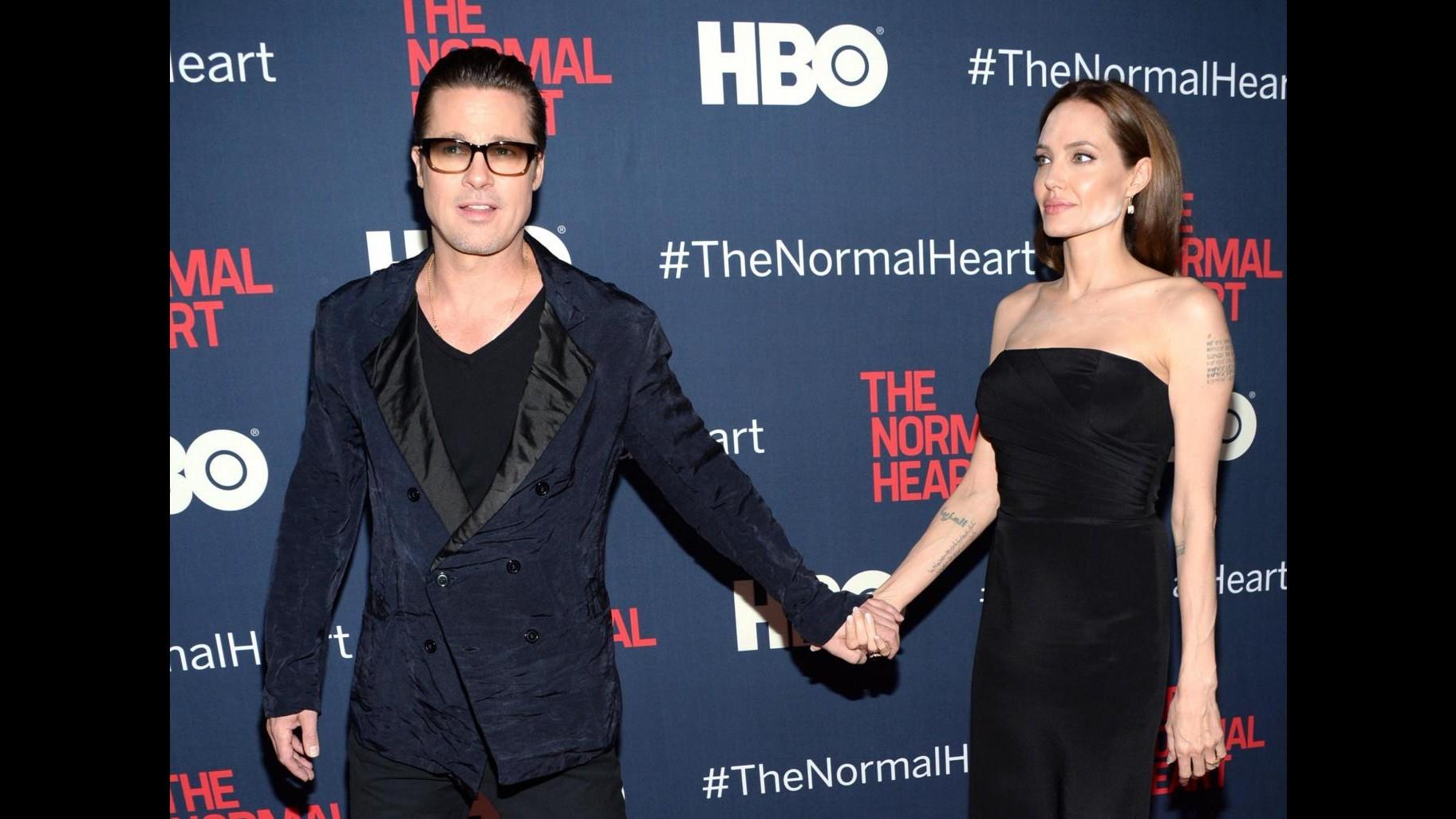 Grandi star per 'The Normal heart' anche Angelina Jolie e Brad Pitt