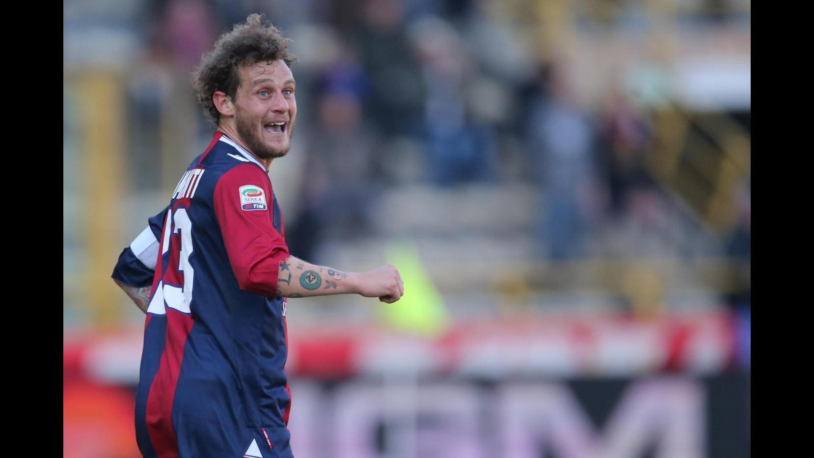Calcio, Bologna: risentimento muscolare per Diamanti