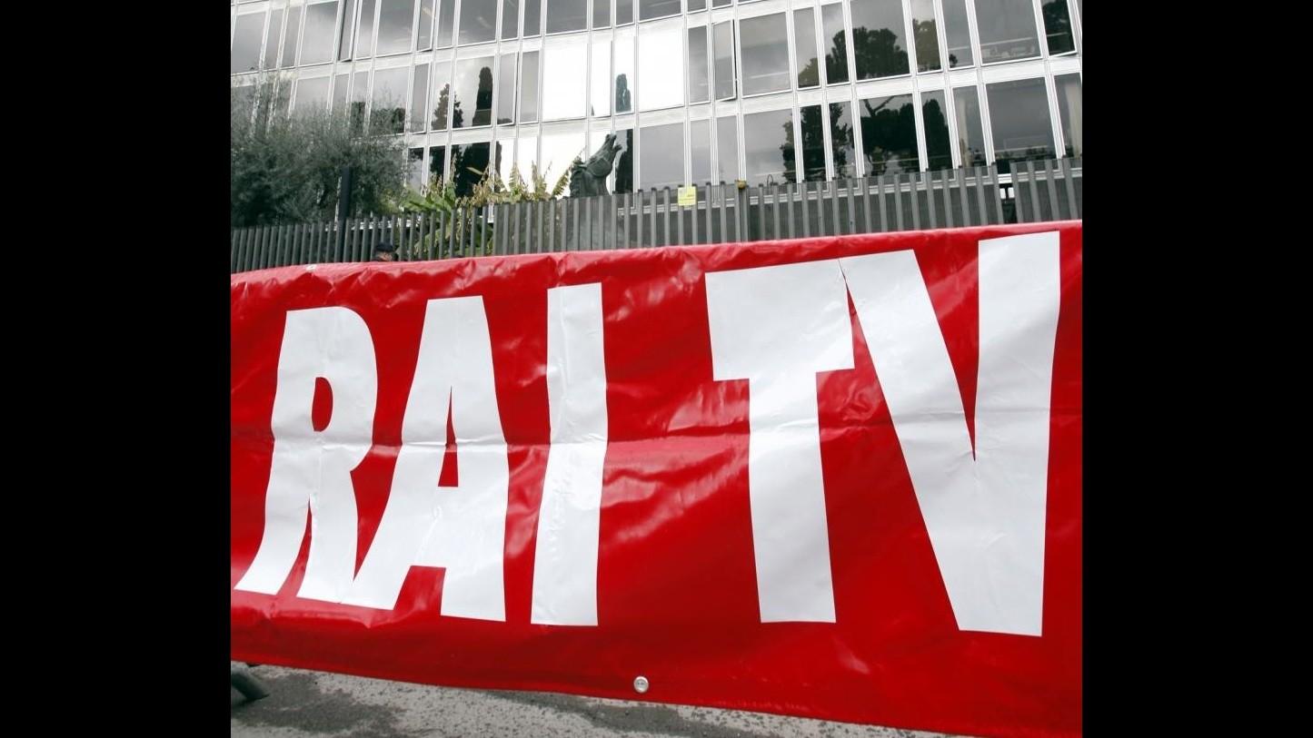 Rai, 11 giugno sciopero dei lavoratori contro taglio 150 milioni