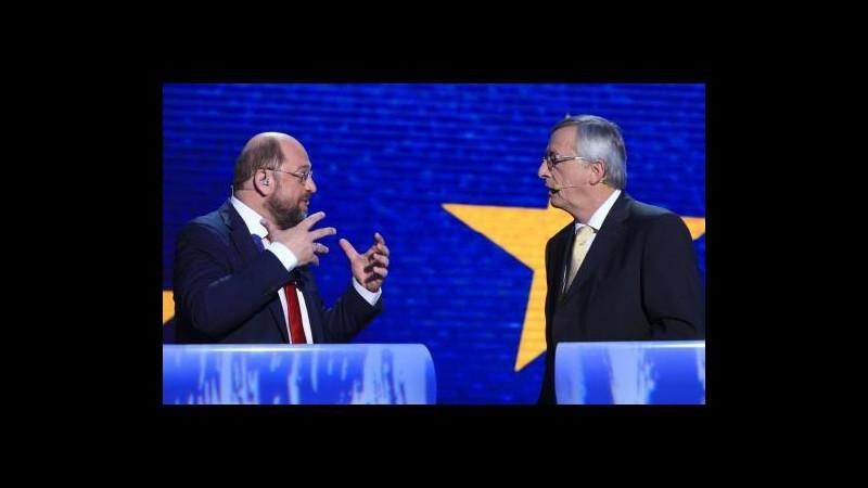 Europee, è battaglia su capo Commissione: Juncker rivendica il ruolo