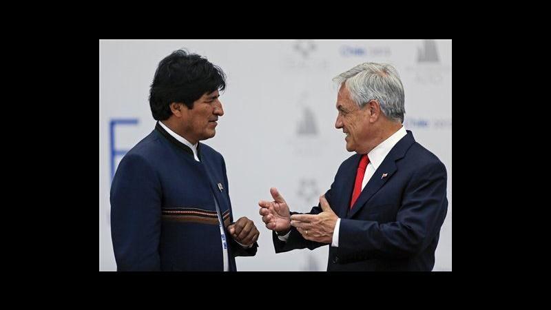 Piñera: No a negoziati Cile-Bolivia per accesso al mare