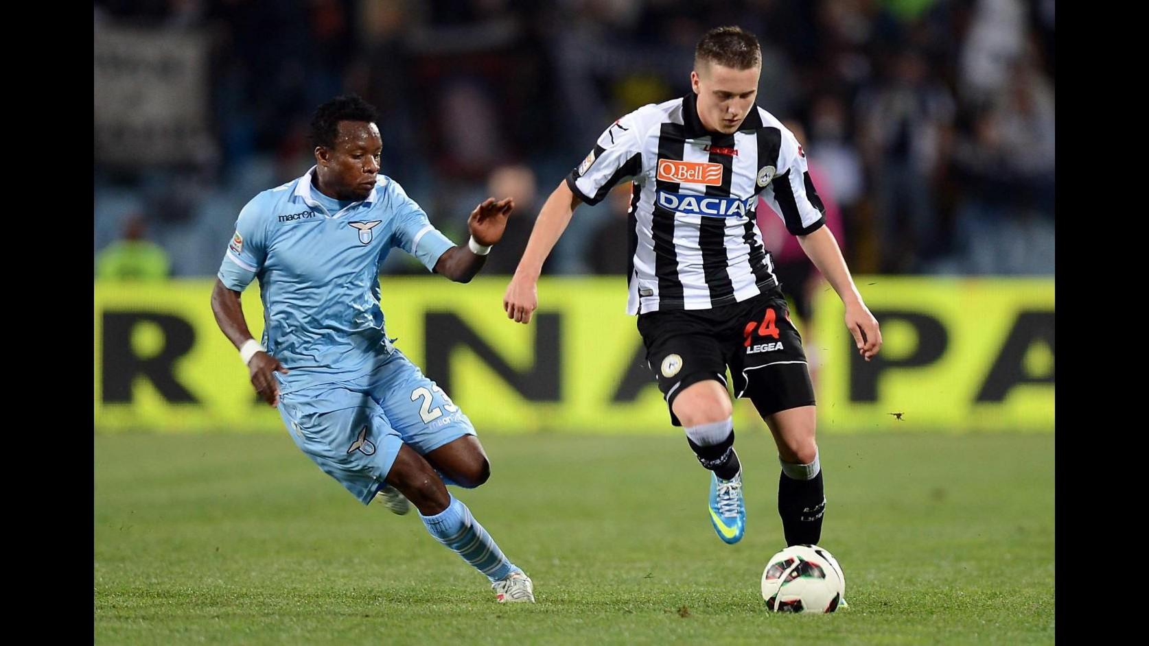 Calcio, Zielinski: Contento per fiducia Udinese, ora pensiamo ad Europa