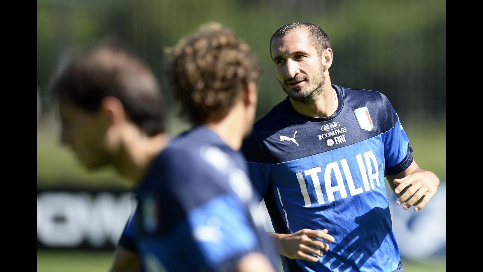 Mondiali 2014, Chiellini: Buffon e Pirlo colonne dell'Italia. Azzurri in volo per Manaus