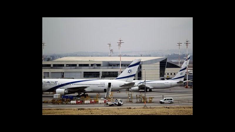 Israele, secondo giorno sciopero compagnie aeree contro accordo con Ue