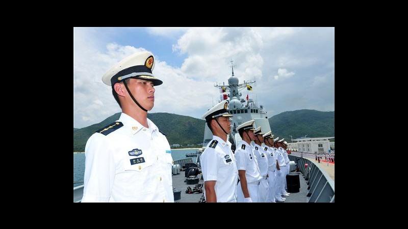 Cina, navi militari si dirigono alle Hawaii per esercitazioni con Usa