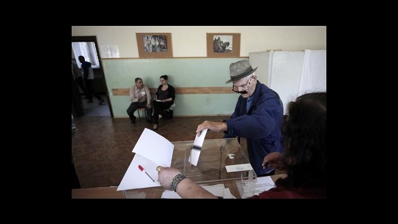 Bulgaria, exit poll: centro-destra in testa con 31%, socialisti 25,3%