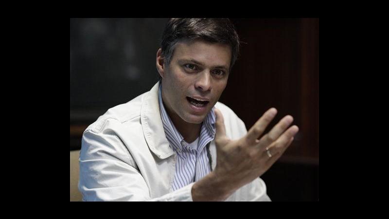 Venezuela, oppositore Leopoldo Lopez resta in cella in attesa processo