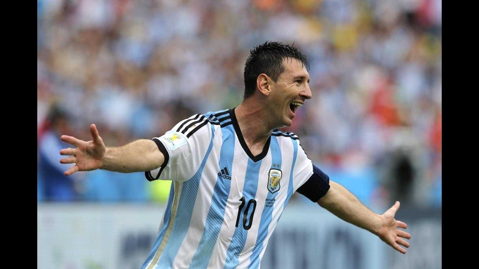 Mondiali 2014, Messi: Argentina migliorata, continuiamo a sognare