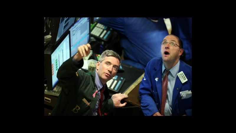 Wall Street, Dow Jones macina record su dati macro Usa e stimolo Fed