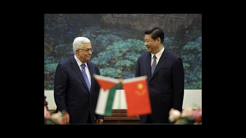 Abbas e Netanyahu in Cina per visite separate, Pechino mira a diplomazia