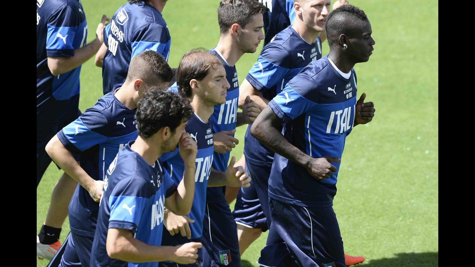 Mondiali 2014, Italia verso Uruguay: Prandelli vara 3-5-2 con Balotelli e Immobile in attacco