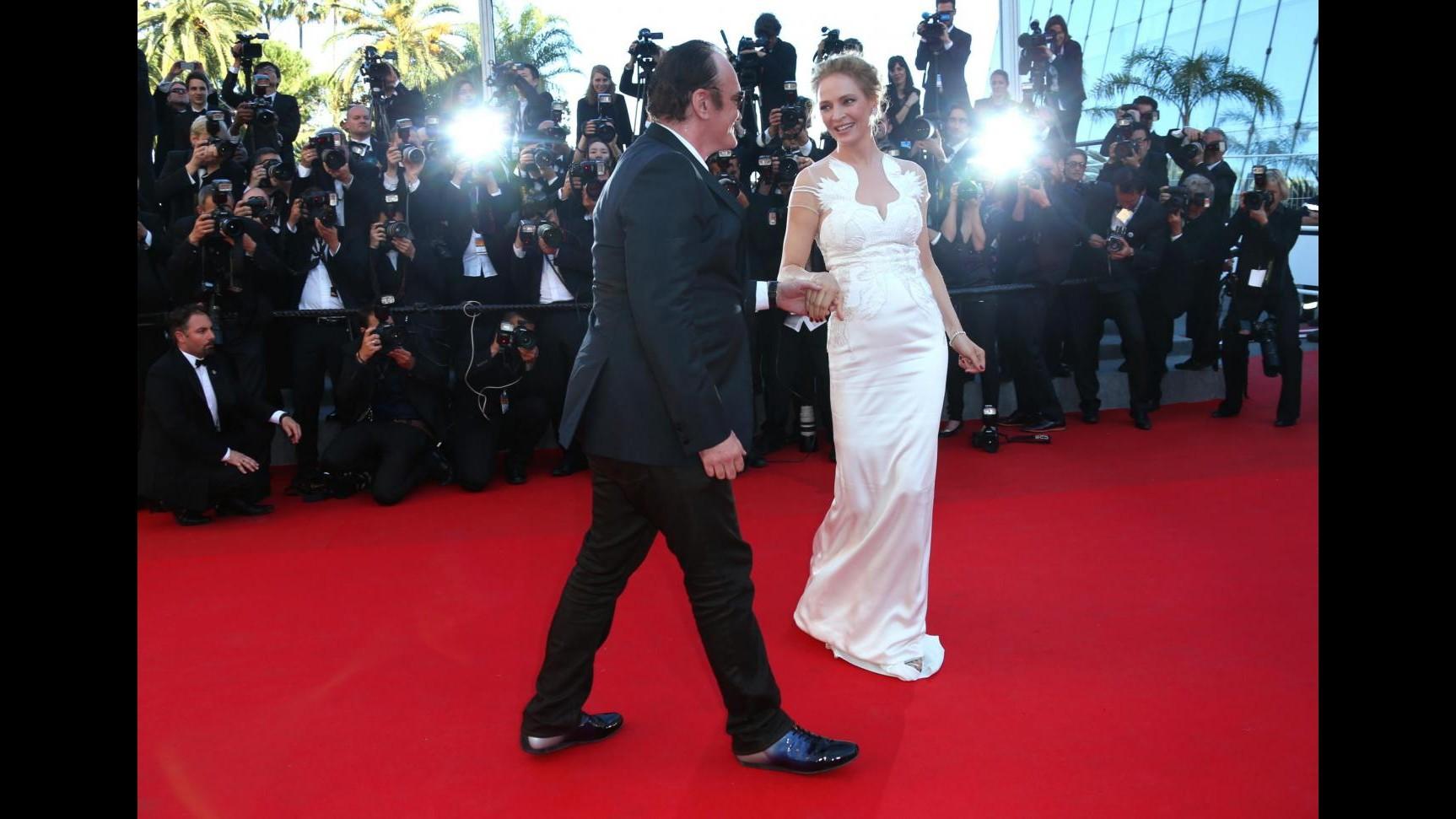 Uma Thurman e Quentin Tarantino fanno coppia fissa