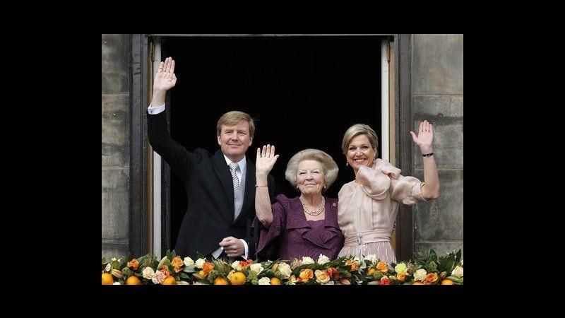 Olanda ha nuovo re: Guglielmo Alessandro succede a madre Beatrice