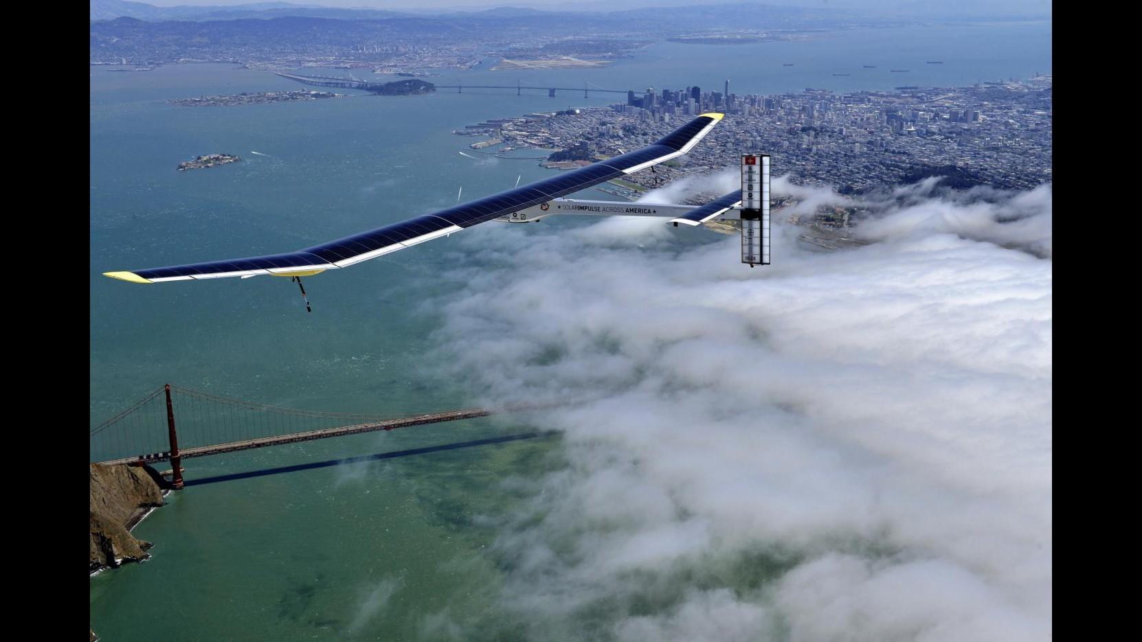 Aereo Solar Impulse completa seconda tappa viaggio attraverso Usa