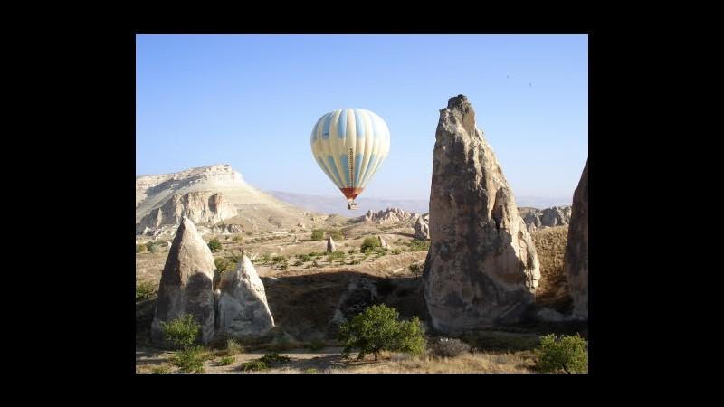 Turchia, collisione fra mongolfiere in Cappadocia: morti 2 turisti
