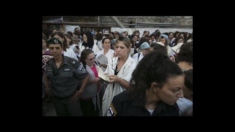 Israele, ebree 'emancipate' pregano al Muro del pianto: no disordini