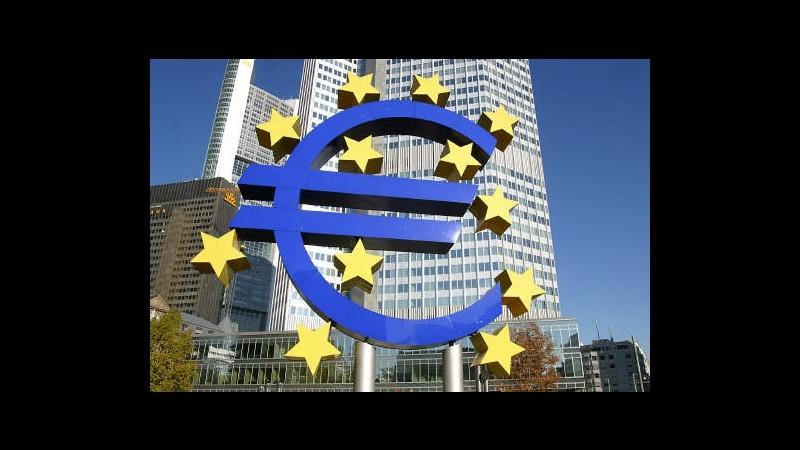 Bce mantiene tassi invariati allo 0,5%