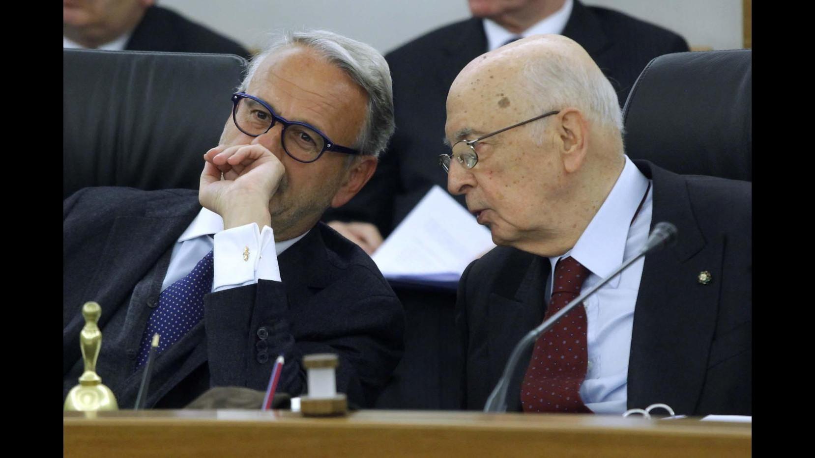 Testo lettera Napolitano a Vietti: Non indebolire credibilità magistrati