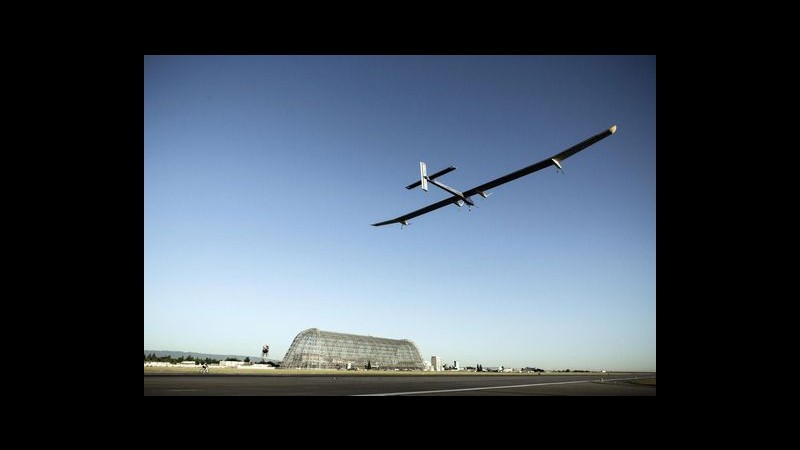 Solar Impulse atterra a St. Louis: conclusa terza tappa traversata Usa