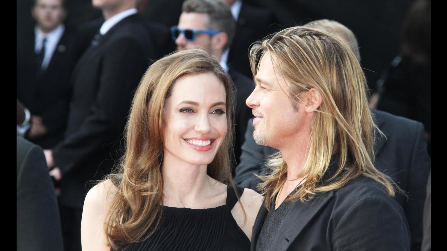 Angelina Jolie in pubblico per la prima volta dopo mastectomia