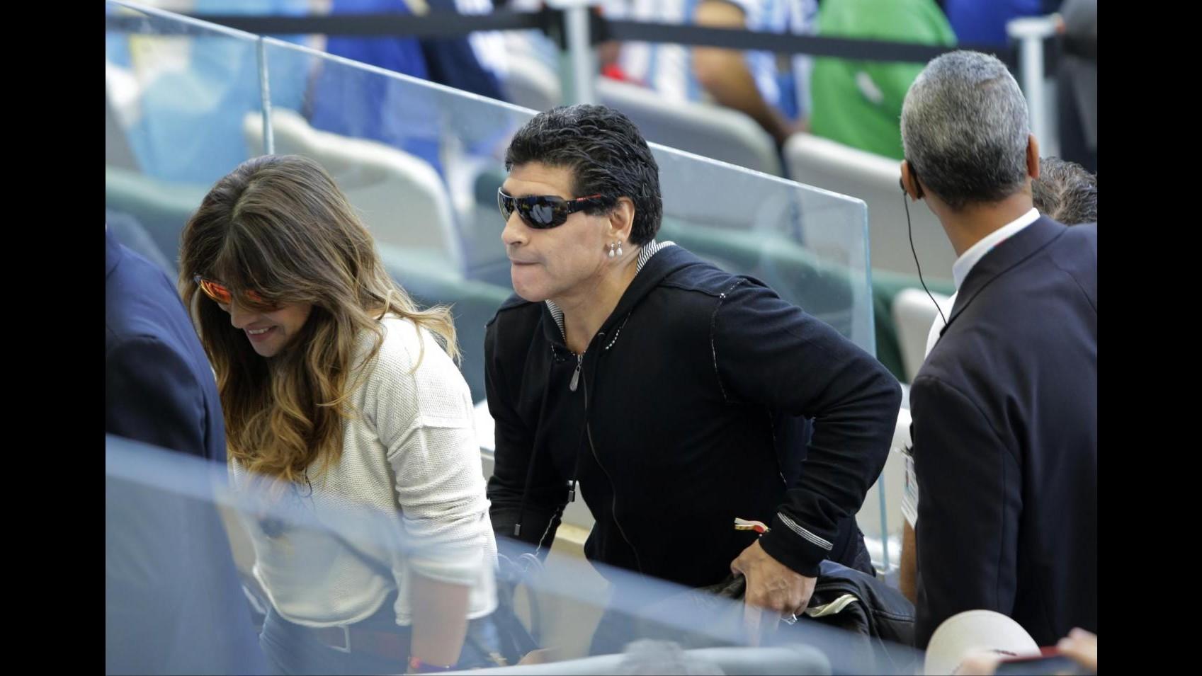 Mondiali 2014, Maradona contro Messi: Non meritava premio miglior giocatore