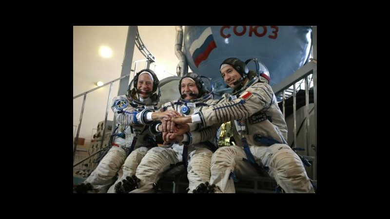 Parmitano è sulla Iss, farà prima passeggiata spaziale di un italiano