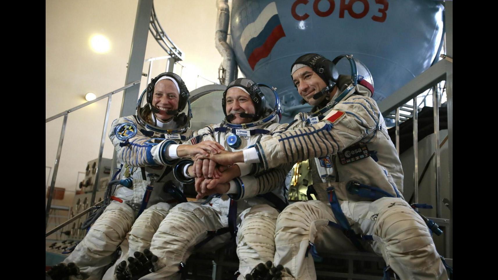 Partito da Baikonur Soyuz con a bordo astronauta Luca Parmitano