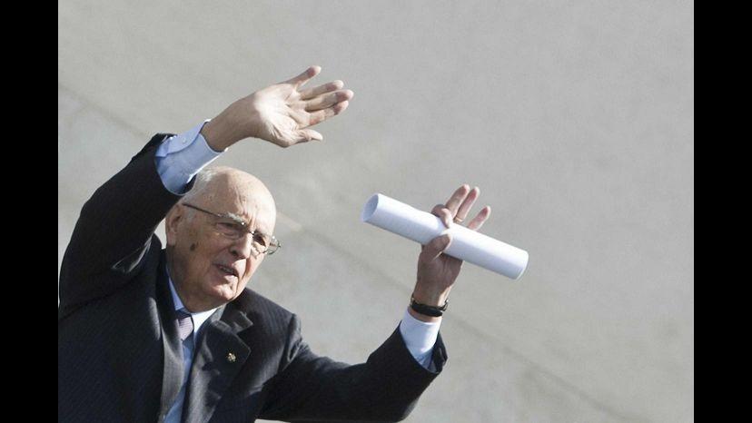 Napolitano: L'invasione di Gaza avrebbe conseguenze imprevedbili