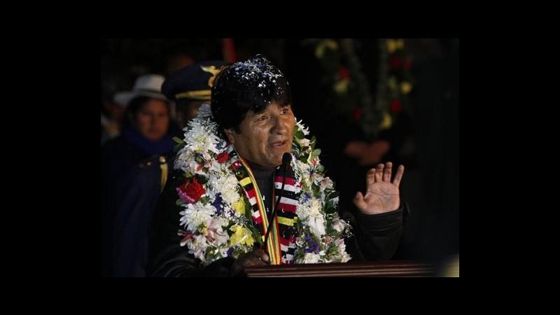 Morales torna in Bolivia dopo stop a Vienna per sospetti Snowden: Provocazione contro Sudamerica