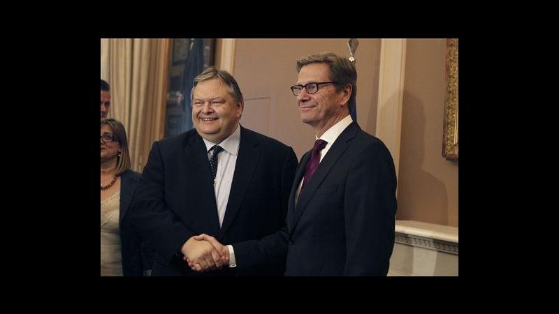 Grecia, Venizelos: Riusciremo a completare negoziati con troika