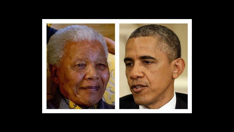 Obama è arrivato in Sudafrica: vedrà Zuma, incerta visita a Mandela