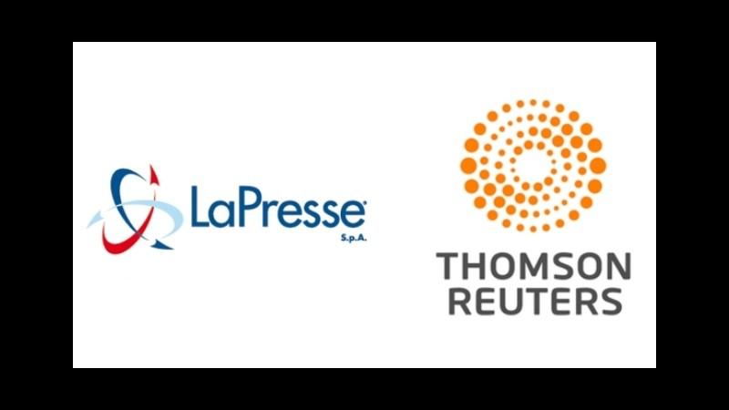 Thomson Reuters e LaPresse annunciano partnership di 3 anni