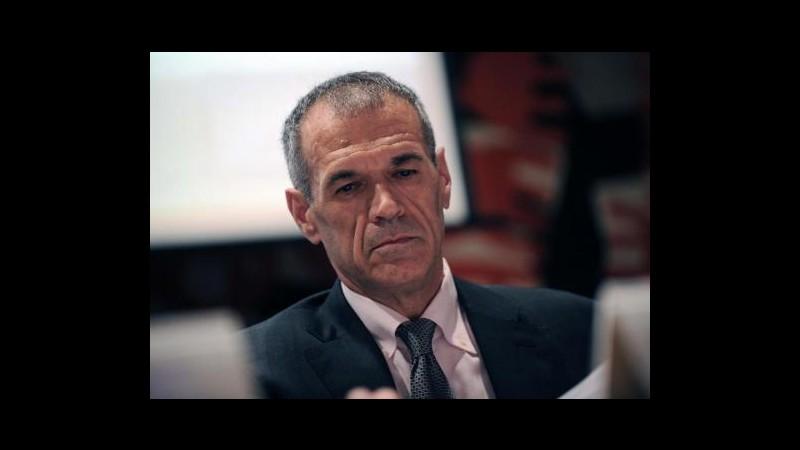 Spending review, Cottarelli: Da taglio partecipate locali 2-3 mld