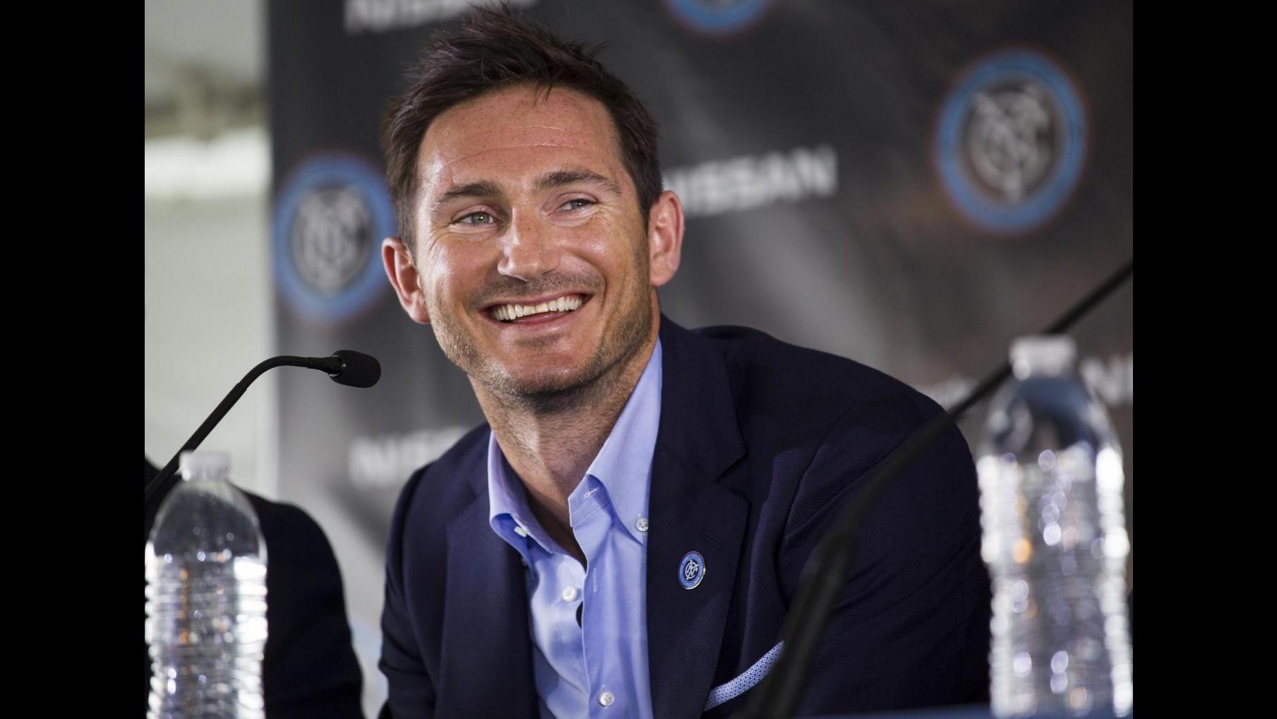 Premier League: Lampard va in prestito al Manchester City per metà stagione