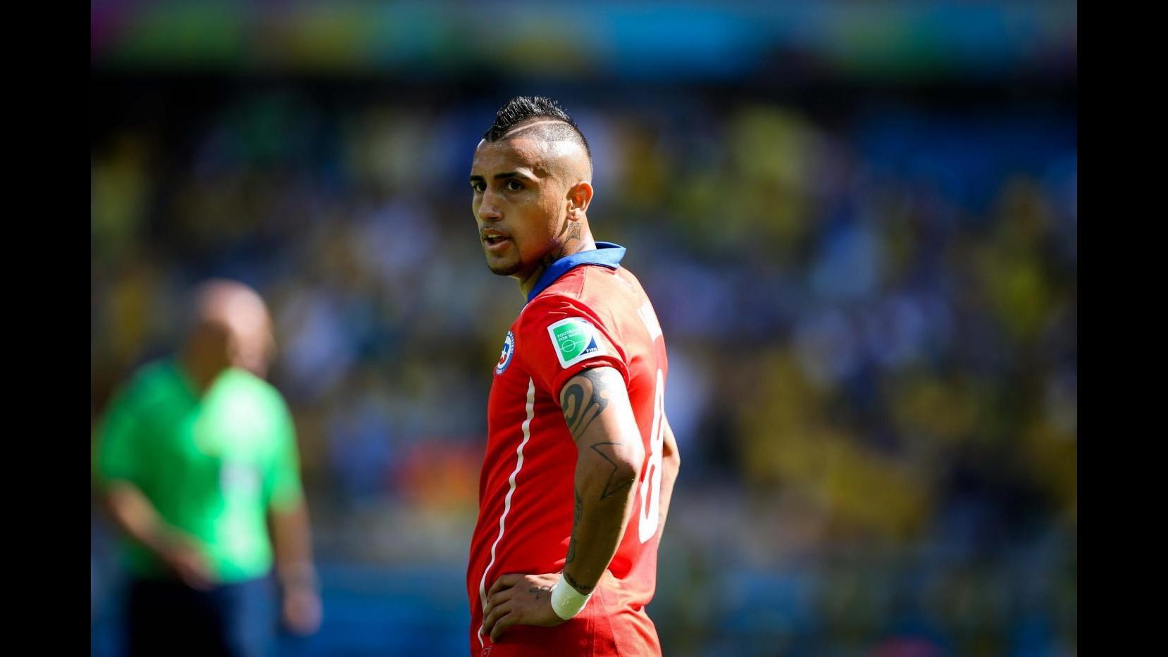 Dall'Inghilterra: Manchester United rallenta su Vidal e punta tutto su Cuadrado