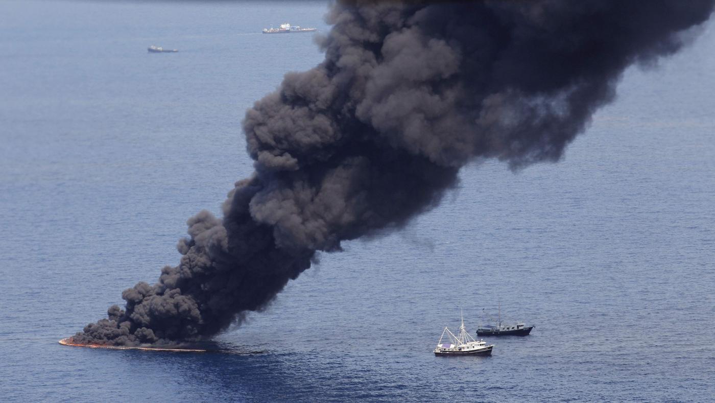 Marea nera, Halliburton si dichiara colpevole per distruzione prove