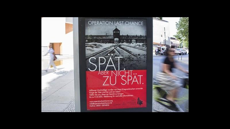 Germania, caccia ad ultimi nazisti: centro Wiesenthal lancia la campagna