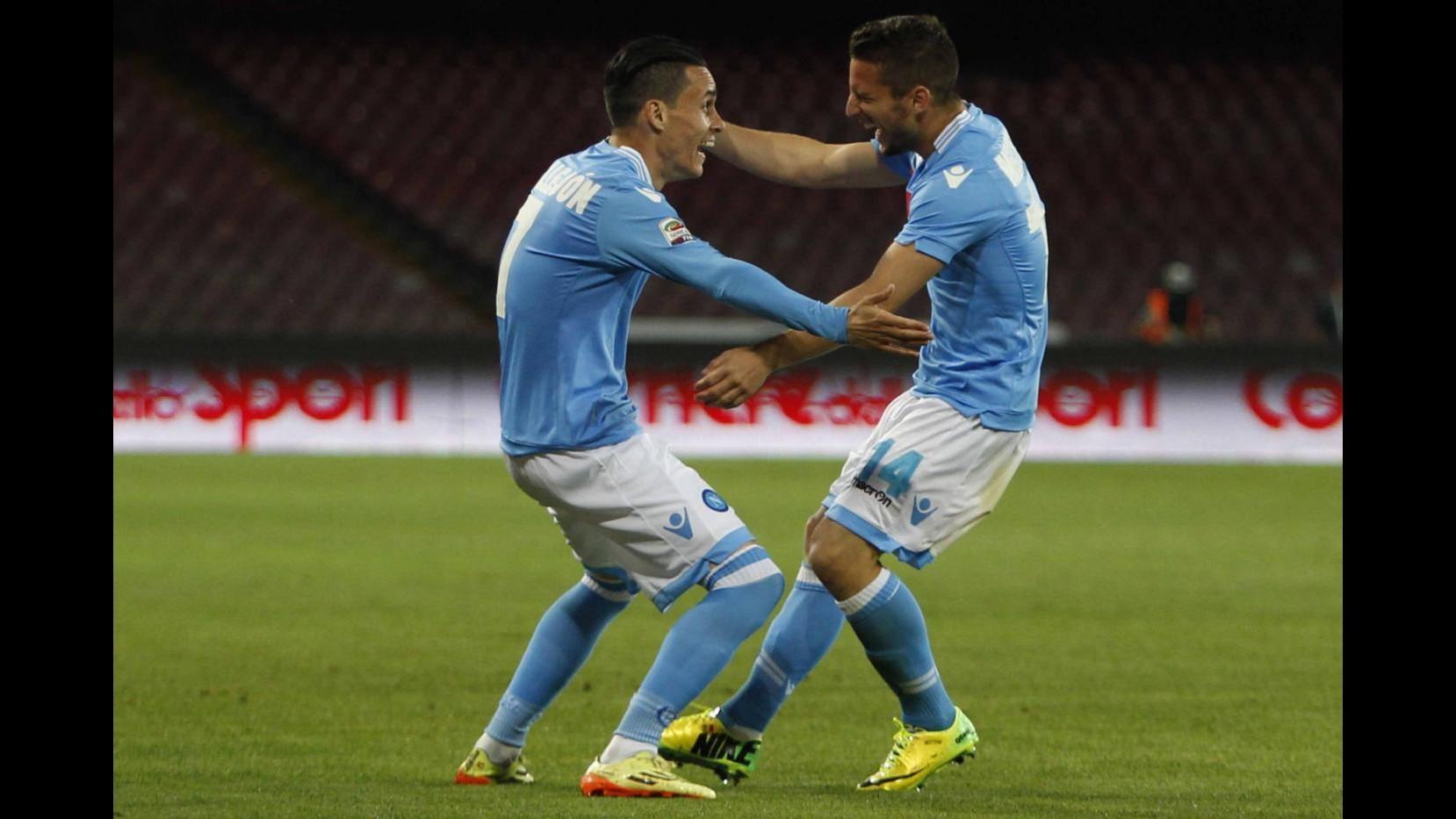 Napoli sorride al San Paolo: 2-0 in amichevole al Paok Salonicco