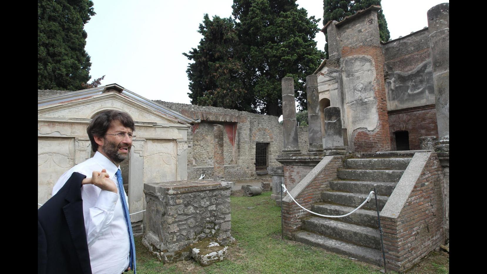 Musei, Franceschini: Rivoluzione tariffaria successo oltre aspettative