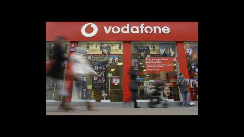Vodafone, ricavi aprile-giugno in calo del 3,5%, in Italia -17,6%