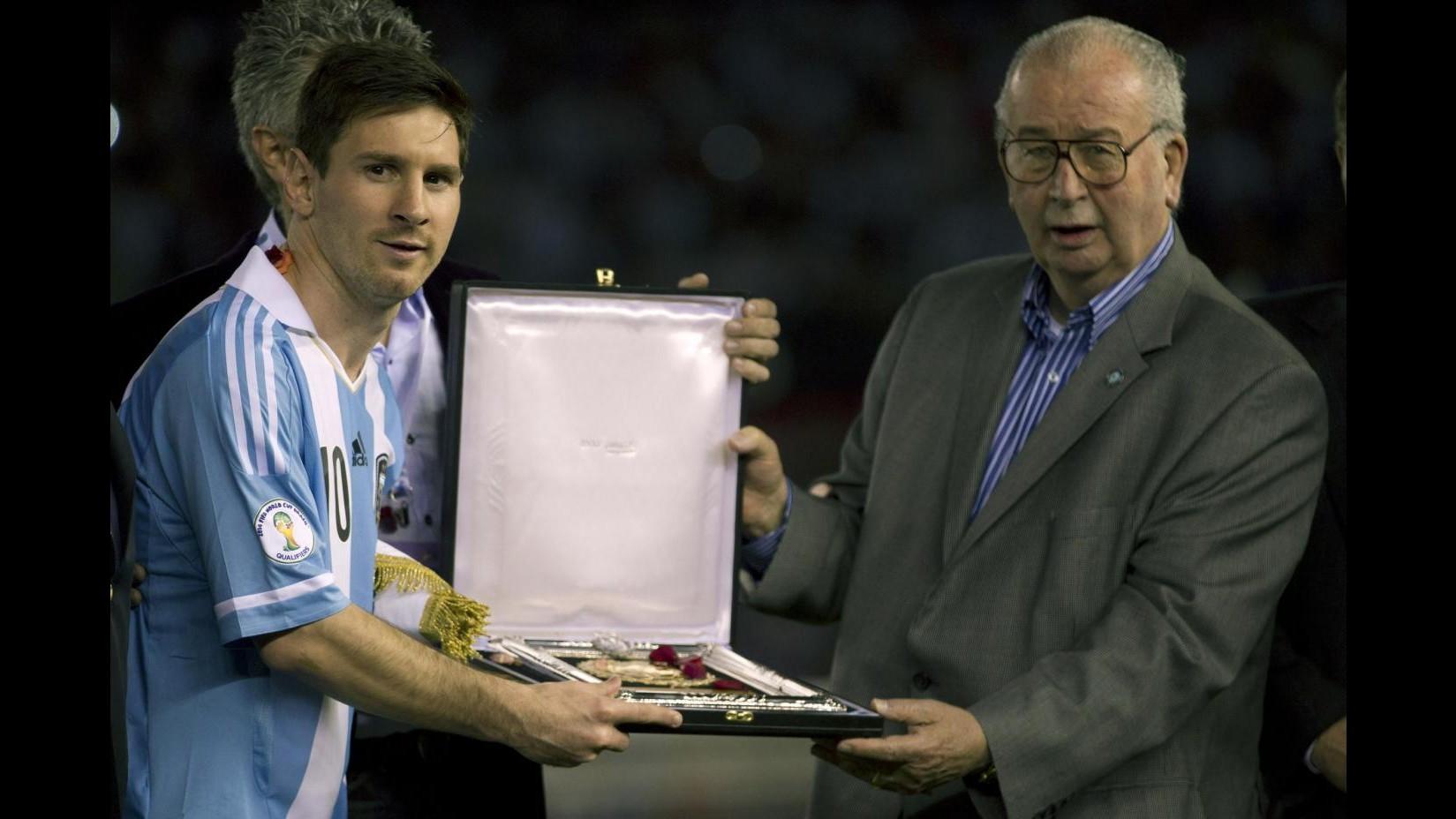 Calcio, lutto in Argentina: morto presidente federale Julio Grondona