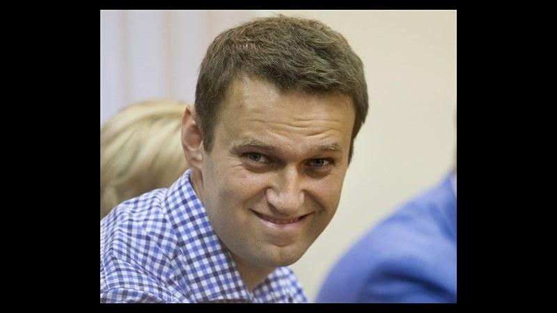 Russia, condannato a 5 anni di carcere Navalny, blogger anti Putin