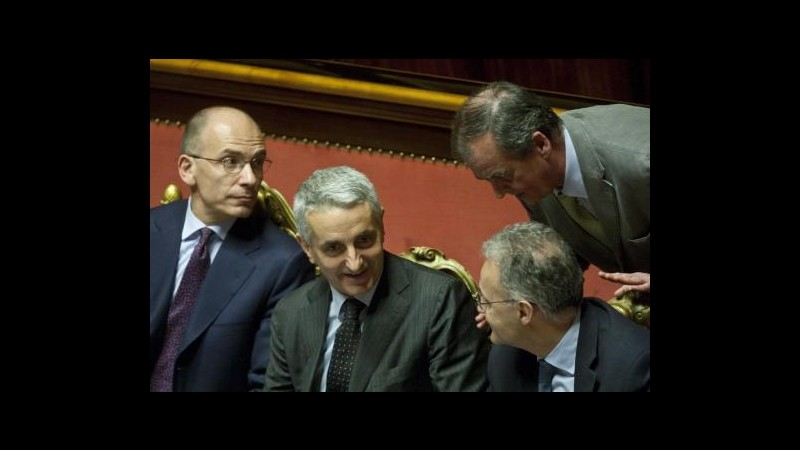 Kyenge, Letta: Calderoli deve dimettersi, sue parole shock per Italia