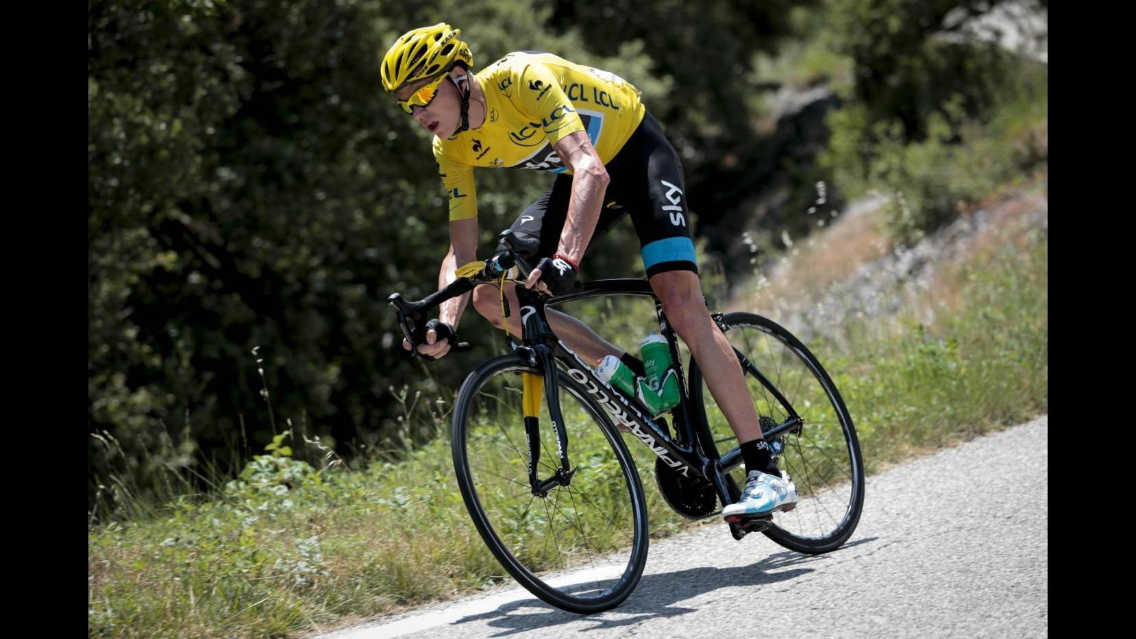 Tour de France: Froome insaziabile, vince anche crono a Chorges. Contador beffato